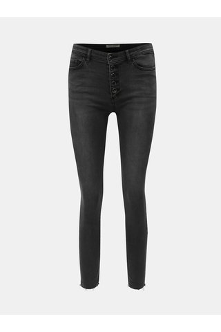 Černé skinny fit džíny TALLY WEiJL