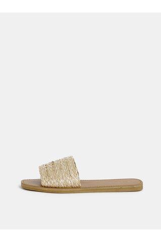 Světle hnědé pantofle Dorothy Perkins