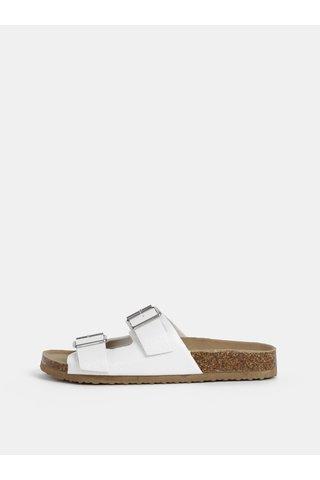 Bílé pantofle Dorothy Perkins