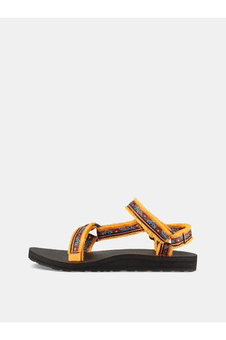 Oranžové dámské vzorované sandály Teva
