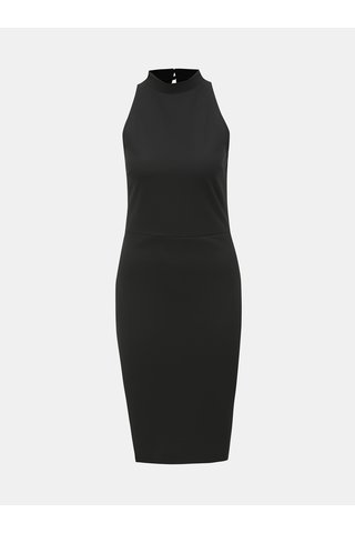 Černé pouzdrové šaty se stojáčkem Dorothy Perkins
