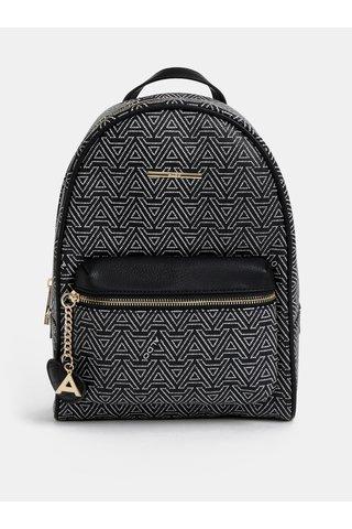 Černý vzorovaný batoh ALDO Hanalei