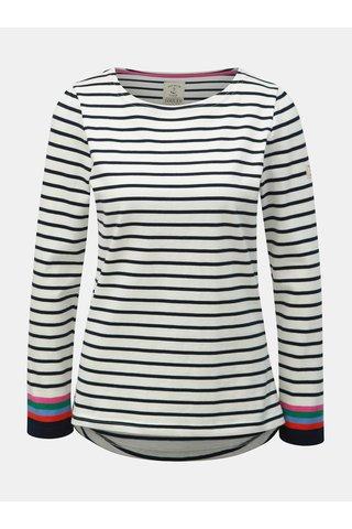 Krémové pruhované tričko Tom Joule Harbour
