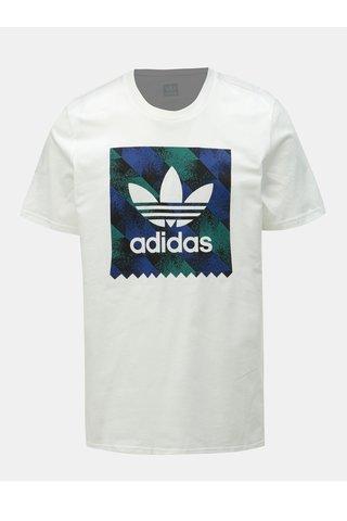Bílé pánské tričko s potiskem adidas Originals Towning