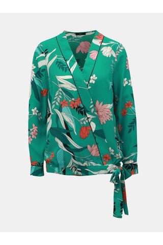 Zelená květovaná halenka M&Co