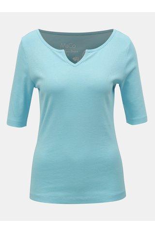 Světle modré basic tričko M&Co