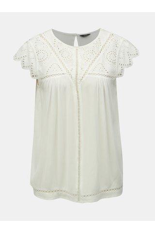 Bílý top s madeirou M&Co