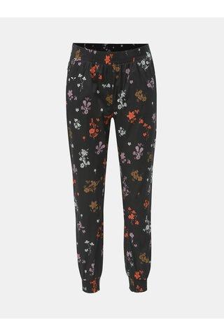 Černé květované kalhoty Maloja Marietta
