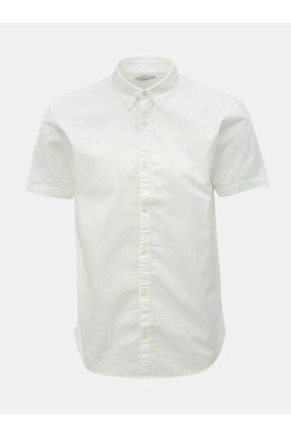 Bílá slim fit košile Jack & Jones Logo