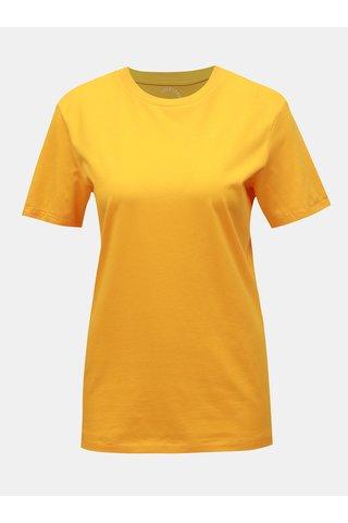 Žluté basic tričko Selected Femme My Perfect