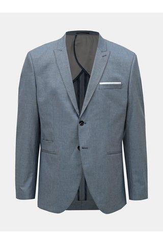 Modré oblekové slim fit sako Selected Homme Freesum