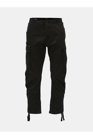 Černé kalhoty s kapsami Jack & Jones