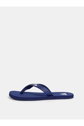 Tmavě modré pánské žabky adidas CORE Eezay