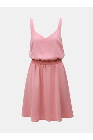 Růžové šaty VILA Laia