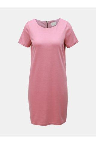 Růžové šaty VILA Tinny