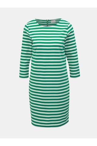 Zelené pruhované šaty VILA Tinny