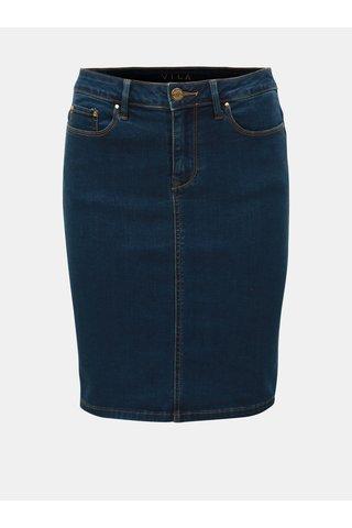 Tmavě modrá džínová sukně VILA Commit Felicia