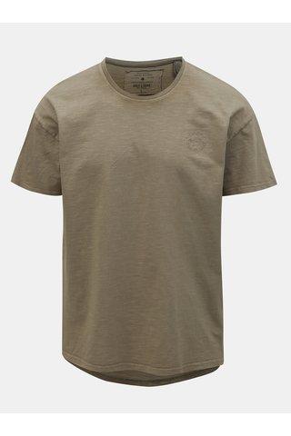 Hnědé oversize tričko ONLY & SONS Phil