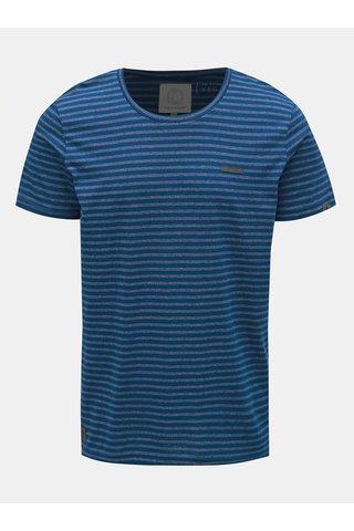 Tmavě modré pánské pruhované tričko Ragwear Paul Stripe Organic