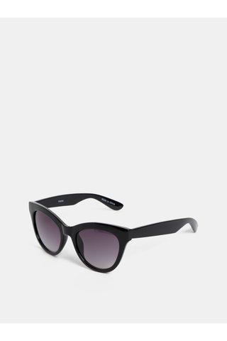 Černé sluneční brýle Pieces Betty
