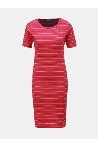 Růžové pruhované šaty Jacqueline de Yong Nevada