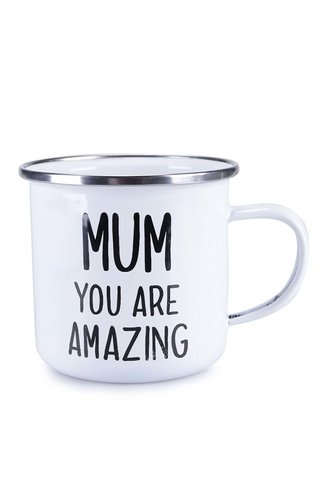 """Cana alba din email - Sass&Belle """"Mum You Are Amazing"""""""