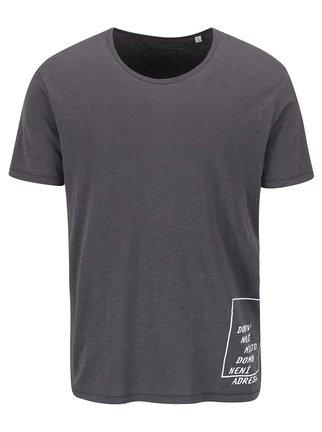 """""""Dobré"""" šedé pánské triko pro Jeden Svět"""