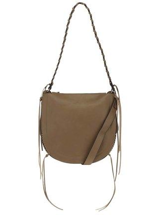 Hnedá kabelka so strapcami Nalí