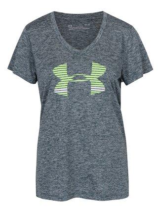 Zelené dámské funkční tričko s krátkým rukávem Under Armour