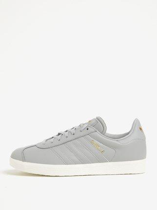 Sivé dámske tenisky adidas Originals Gazelle