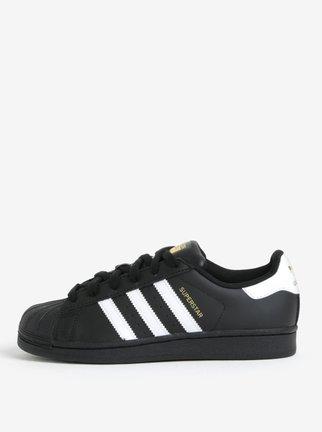 Čierne unisex tenisky adidas Originals Superstar