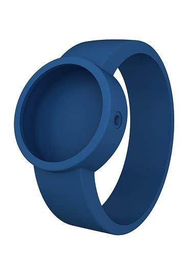 Modrý silikonový pásek na hodinky O clock