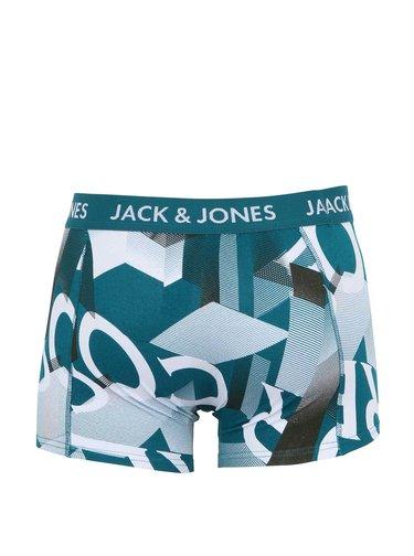 Zeleno-biele boxerky Jack & Jones Amont