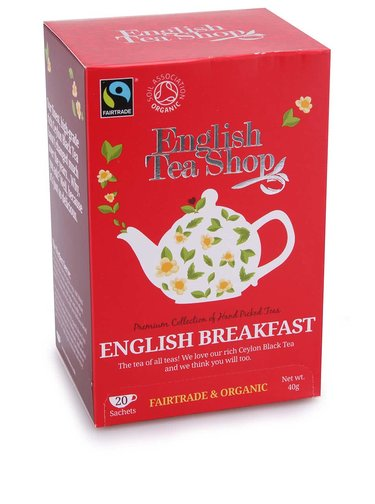Černý čaj English Breakfast English Tea Shop Bio