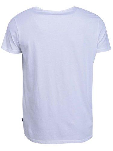 Tricou basic alb din bumbac  -  Shine Original Andy
