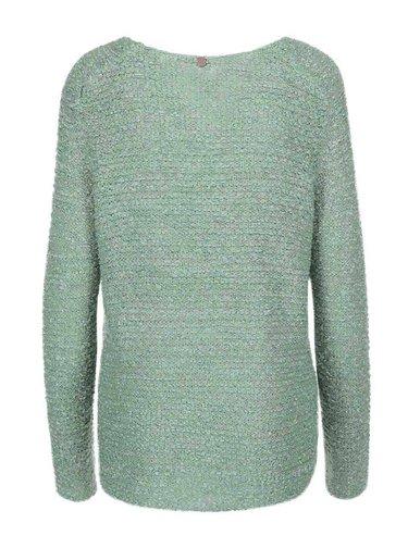Zelený voľnejší sveter ONLY Geranium