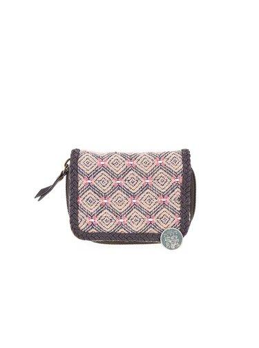 Hnedá dámska vzorovaná peňaženka Rip Curl Hayes
