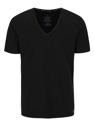 Set de 2 tricouri negre Calvin Klein Underwear