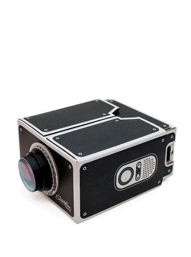 Čierny projektor na mobil Luckies