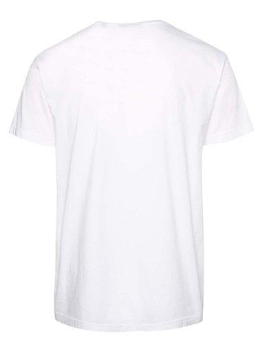 Bílé pánské basic triko s logem GANT