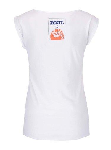 Bílé dámské tričko bez rukávů Bez Jablka Nejsem pohodářka