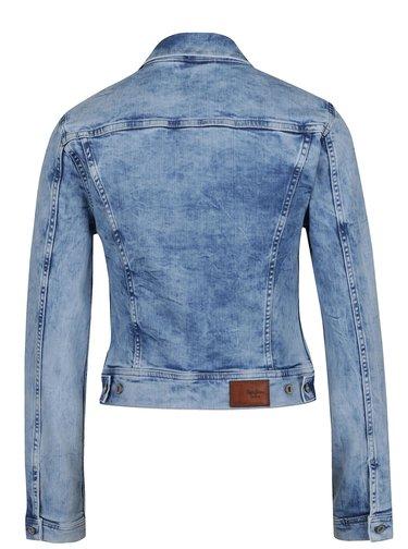 Světle modrá dámská džínová bunda Pepe Jeans Mikas