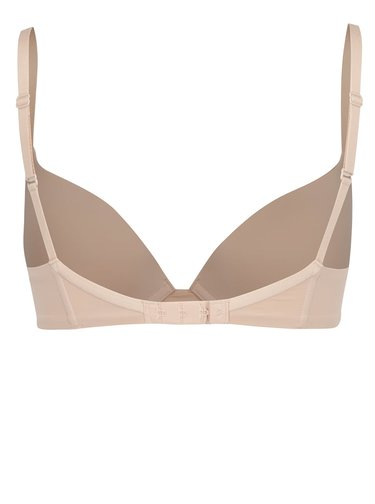 Sutien push-up nude cu bretele ajustabile - Wonderbra