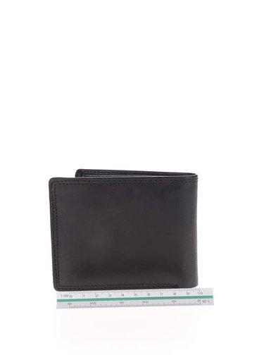 Černá pánská kožená peněženka 2v1 Rip Curl Clean