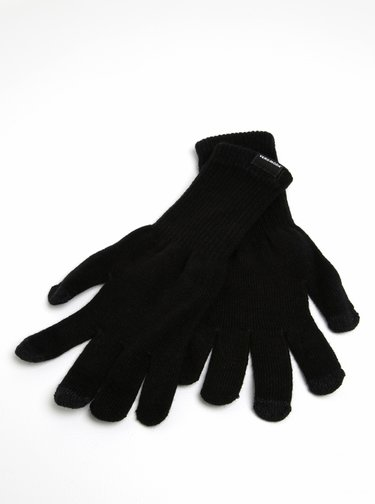 Manusi tricotate negre - VERO MODA Nete