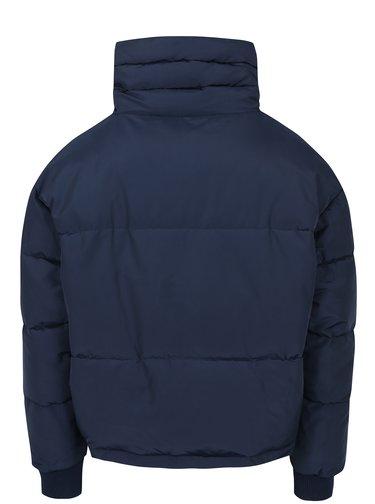 Tmavomodrá prešívaná zimná bunda Noisy May Morris
