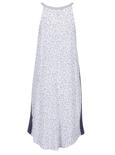 Sivo-krémová nočná košeľa s gepardím vzorom DKNY