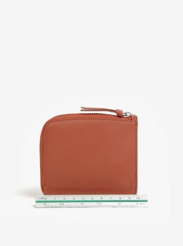 Ružová dámska kožená peňaženka Bellroy Pocket mini