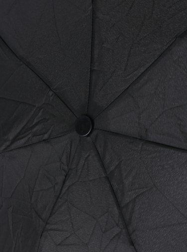 Čierny skladací dáždnik Derby