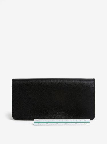 Čierna dámska kožená peňaženka ELEGA Amina